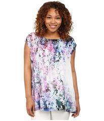 DKNY Jeans Plus Size Sunset Florals Print Crossove