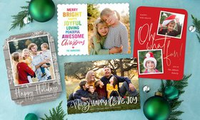 Up to 74% Off Custom Holiday Photo Cards