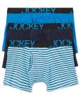 Jockey 3 Pack Active Cotton Stretch Boxer Brief