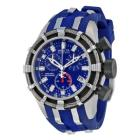 Invicta Reserve Collection Chronograph Blue Rubber