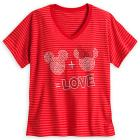 Mickey and Minnie Mouse Icon Tee for Women - Plus