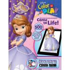 Disney Jr. Sofia the First Color and Play Book