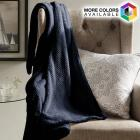 Ultra-Soft Textured Throw Blanket