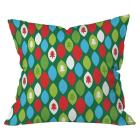 Mini Forest Throw Pillow Green (20\