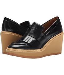 See by Chloe Fringed Moc On A Wedge Lug Sole