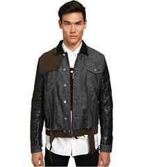 DSQUARED2 Trench-Biker Jean Jacket