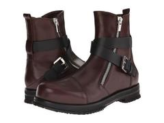 CoSTUME NATIONAL Leather Buckle Boot