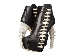 DSQUARED2 Ankle Boot with Sculpture Heel