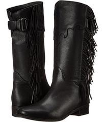 See by Chloe Pebbled Leather Bootie with Fringe