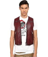 DSQUARED2 Side Laces Leather Vest