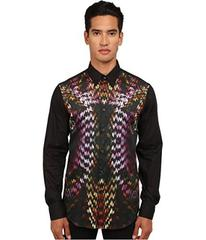 Just Cavalli Flaming Groovies Printed Woven Shirt