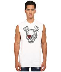 DSQUARED2 Puff and Soft Print Skull T-Shirt