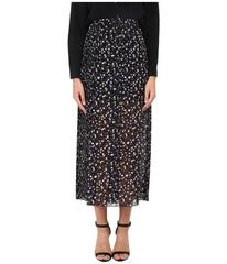 See by Chloe Pleated Gorgete Maxi Skirt
