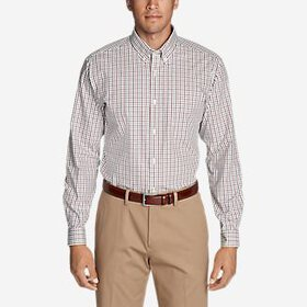 Men's Wrinkle-Free Pinpoint Oxford Classic Fit