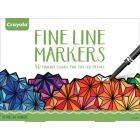 Crayola Adult Coloring Fine Line Markers - 40 Coun