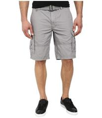 DKNY Jeans Mini Ripstop Cargo Shorts in Frost Gray