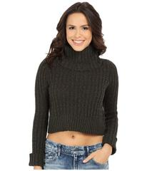Free People Twisted Cable T-Neck