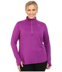 Nike Dry Element 1/4 Zip Running Top (Size 1X-3X)