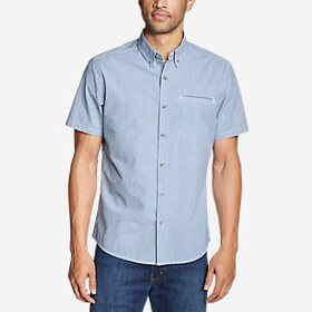 Men's Bainbridge Short-Sleeve Seersucker Shirt