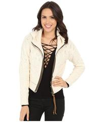 Free People Cable Zip Front Hooodie