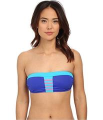 DKNY A Lister Bandeau Bra w/ Stripping Detail & Re