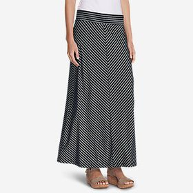 Women's Kona Maxi Skirt - Stripe