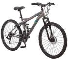 26 in Mongoose Men's Dual Suspension Mountain Bike