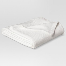 Solid Cotton Blanket - Threshold™