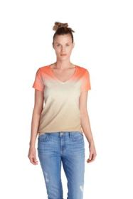 Women's Gypsum Dip Dye T-Shirt