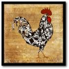 Courtside Market Rooster I Canvas Wall Art