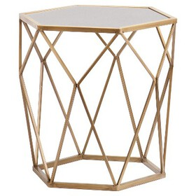 Accent Table - Soft Gold - Aiden Lane