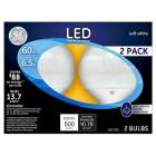 GE GE LED 60Watt G25 Globe Light Bulb (2Pk) - Soft