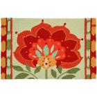 Homefires 22x34-Inch Ikat Bloom Accent Rug