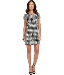 Jessica Simpson Short Sleeve Printed Shift Dress w
