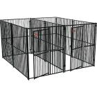 Jewett Cameron Euro 10x5x6 Two-Run Dog Kennel