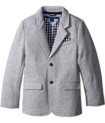 Tommy Hilfiger Kids Knit Blazer with Gingham Linin