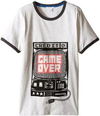 Little Marc Jacobs Jersey Tee Shirt Game Over (Big