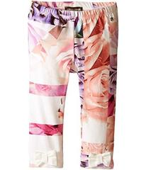 Roberto Cavalli All Over Printed Leggings with Bow