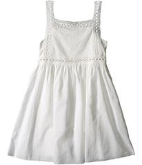 Chloe Cotton Crepe Couture Dress Embroidery Under