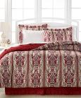 Hamilton 8-Pc. Reversible Full Bedding Ensemble