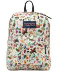 Jansport Superbreak Backpack in Multi Stickers