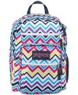 Jansport Big Student Backpack in Multi Saucy Chevr