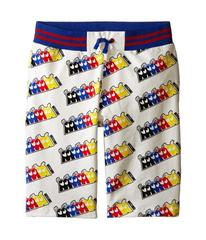 Moschino Fleece Bermuda Shorts (Big Kids)