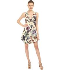 Just Cavalli Love Royal Printed V-Neck Dress