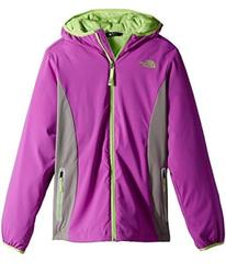 The North Face Mossbud Softshell Hoodie (Little Ki