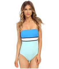 Vince Camuto Beach Front Bandeau Maillot w/ Remova