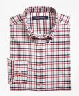 Boys Supima® Cotton Oxford Multi Check Plaid Sport