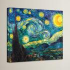 Alcott Hill Starry Night by Vincent Van Gogh Paint