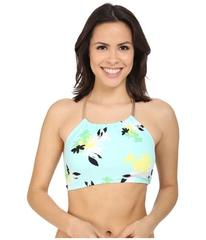 Vince Camuto Pool Side Chain Halter Crop Top w/ Re