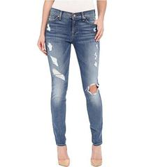 7 For All Mankind The Skinny w/ Contrast Squiggle